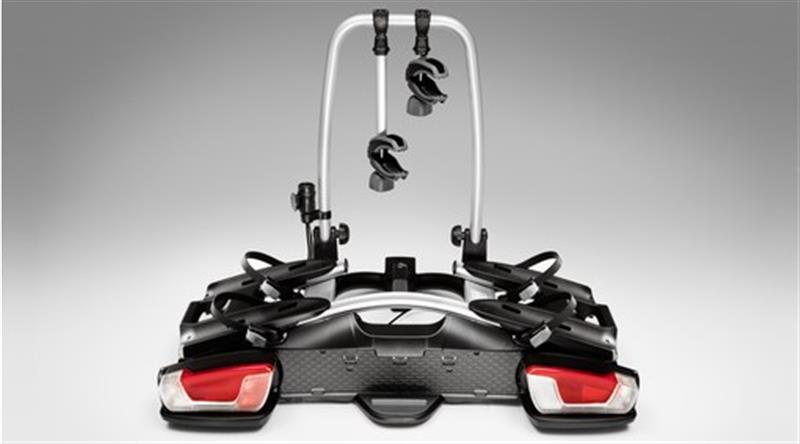 Fahrradträger für Anhängerzugvorrichtung, 2 Fahrräder