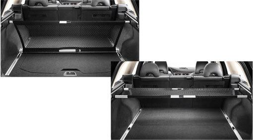 Multifunktionaler Gepäckraumteiler, XC70 ab MJ2008