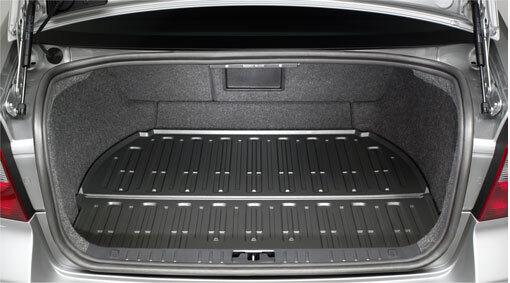Gepäckraum-Schalenmatte, S80