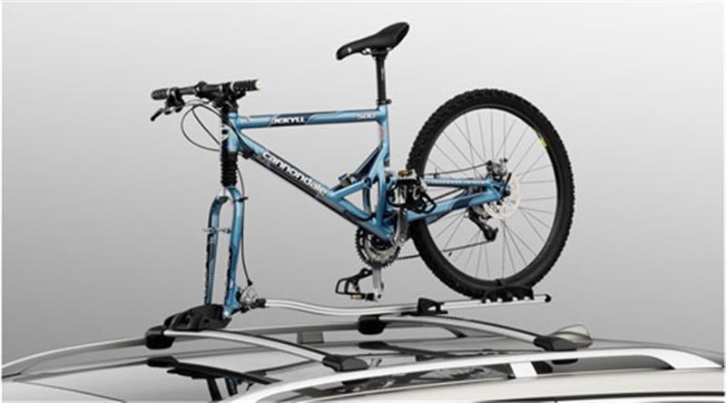 Fahrradträger + Radhalter für Gabelmontage