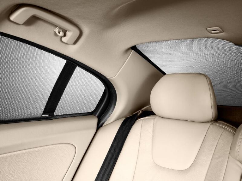 Passform-Sonnenschutzblenden Hintertüren, S60 und S60CC bis MJ2018