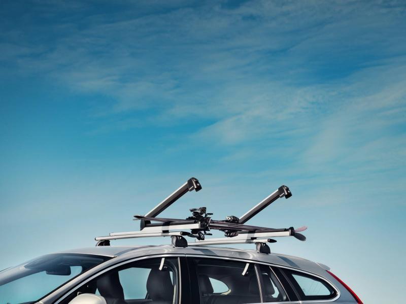 Skiträger sechsfach, ausziehbar