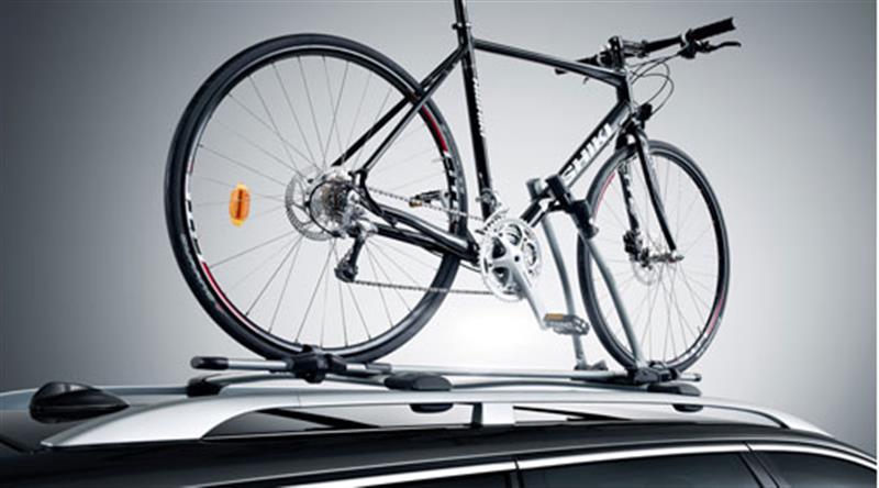 Fahrradträger mit Rahmenhalter