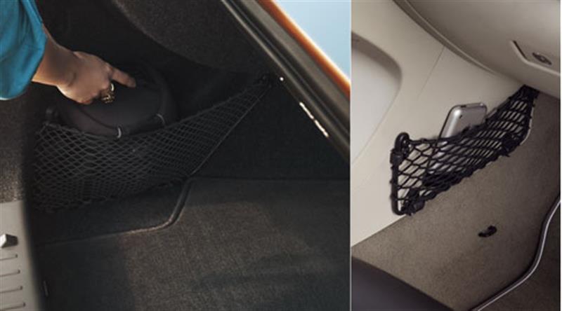 Netztaschen - Innen- und Gepäckraum
