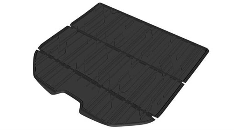 Gepäckraummatte aus geformtem Kunststoff