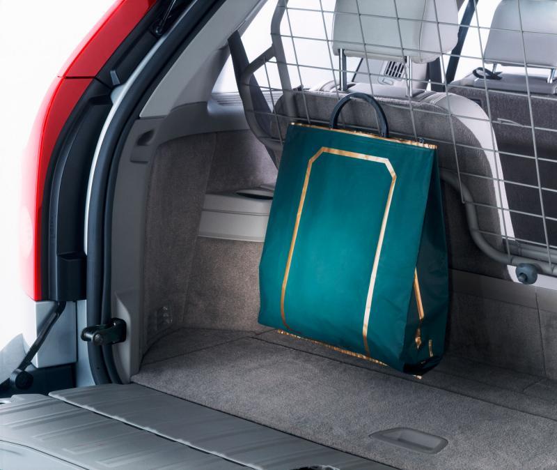 Gepäckraumgitter 3. Sitzreihe, XC90 7-Sitzer bis MJ2014
