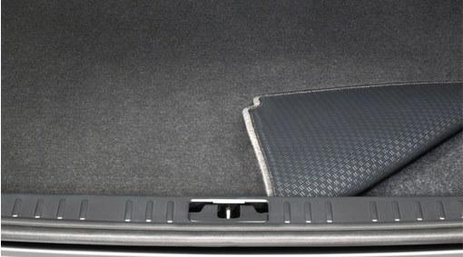 Tappeto del vano bagagliaio reversibile in tessuto/plastica