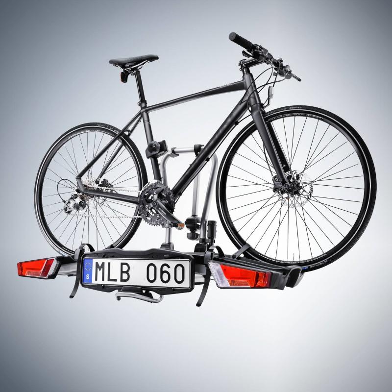 Fahrradträger für Anhängerkupplung, faltbar