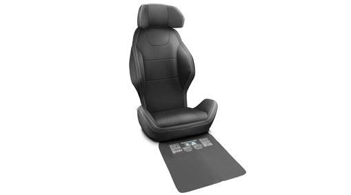 Komfortbezug für integrierte Kindersitze, XC60 bis MJ2017