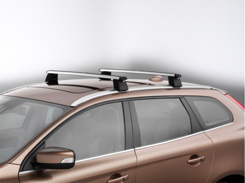 Barres de toit, profil aluminium pour glissières