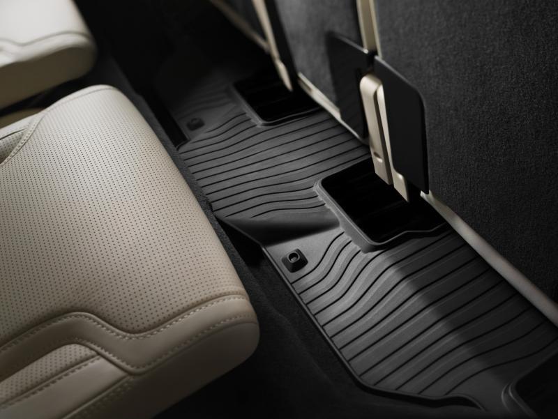 Fußmatte 3. Sitzreihe Gummi, XC90 7-Sitzer bis  MJ2014