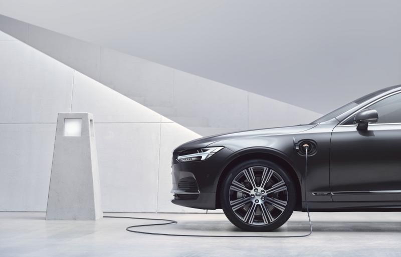 Prime Suède Volvo S90 Recharge Plug-in Hybrid